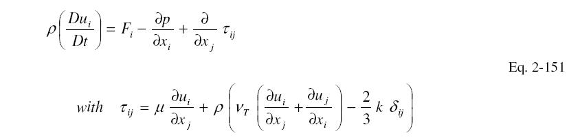Reynolds average Navier-Stokes equation 7: E-Learning